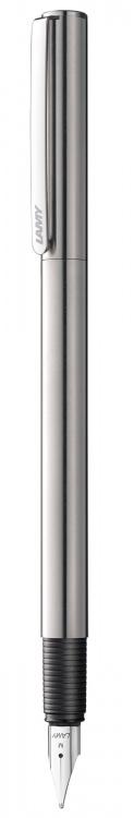 Ручка перьевая Lamy 045 st, Полированная сталь,EF
