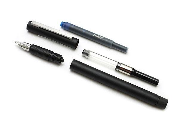 Ручка перьевая Lamy 056 cp1, Черный, M