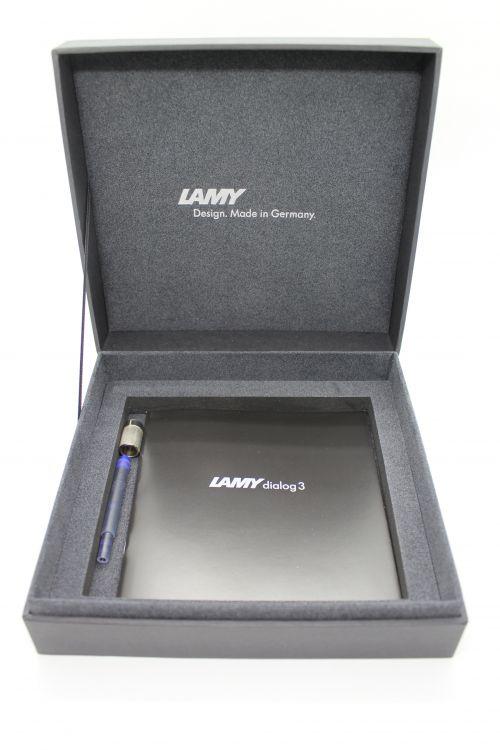 Ручка перьевая Lamy 074 dialog3, Черный, EFg