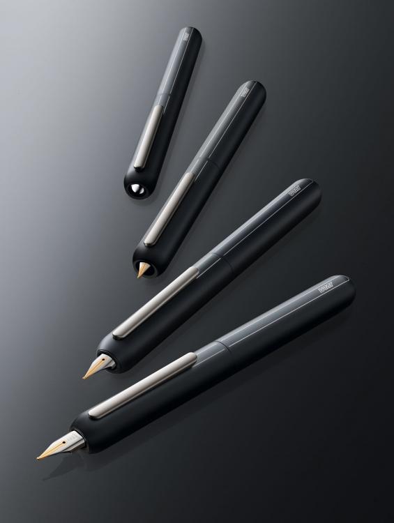 Ручка перьевая Lamy 074 dialog3, Черный, Fg