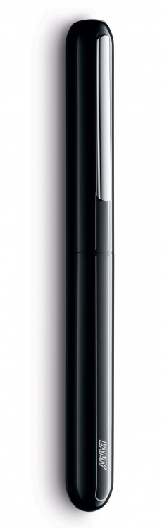 Ручка перьевая Lamy 074 dialog3, Черный лак, Mg