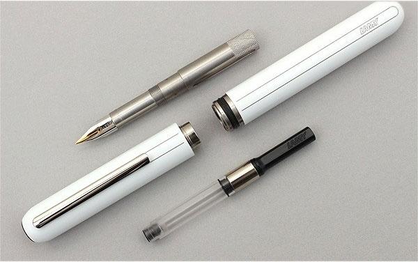 Ручка перьевая Lamy 074 dialog3, Белый лак, Fg