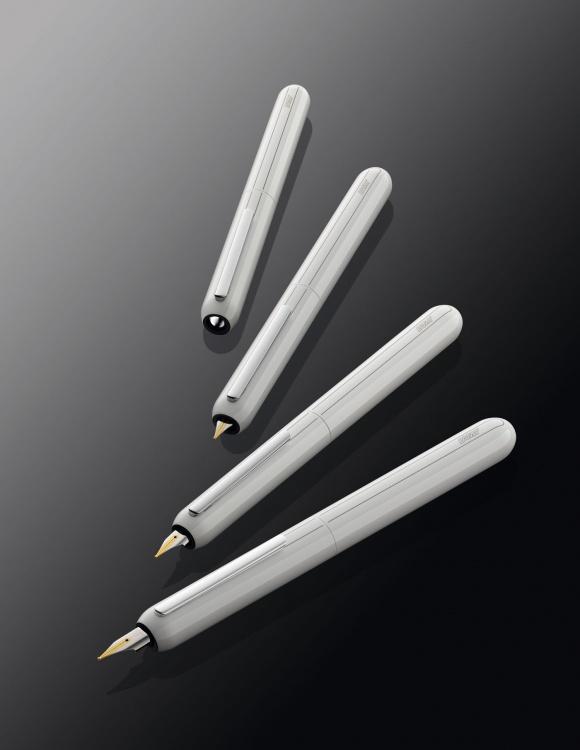 Ручка перьевая Lamy 074 dialog3, Белый лак, Mg