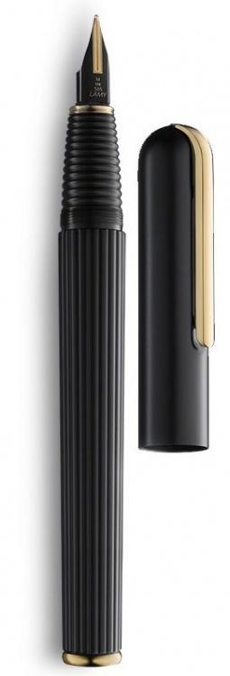 Ручка перьевая Lamy 060 imporium, Черный PVD/Золотое покрытие, Fg