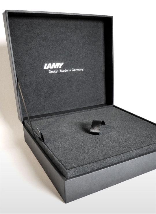Ручка перьевая Lamy 092 imporium, Черный PVD, Fg