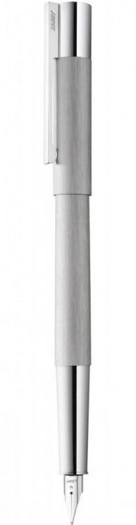 Ручка перьевая Lamy 051 scala, Матовая сталь, M