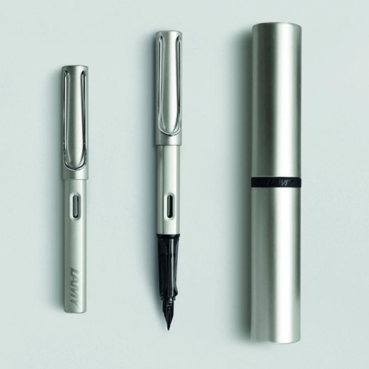 Ручка перьевая Lamy 058 lux, Палладий, Mpvd