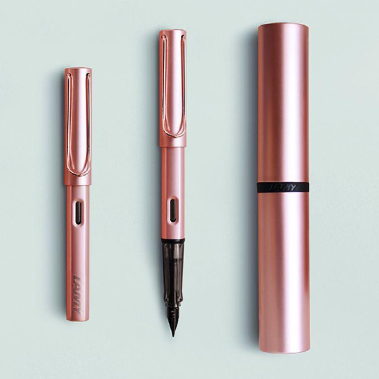 Ручка перьевая Lamy 076 lux, Розовое  золото, Mpvd