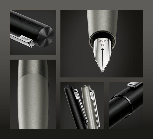 Ручка перьевая Lamy 077 aion, Черный, M