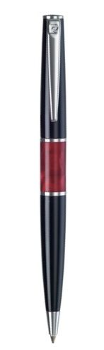 Ручка шариковая Pierre Cardin LIBRA, цвет - черный и красный. Упаковка В