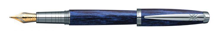 Ручка перьевая Pierre Cardin MAJESTIC. Цвет - синий. Упаковка В