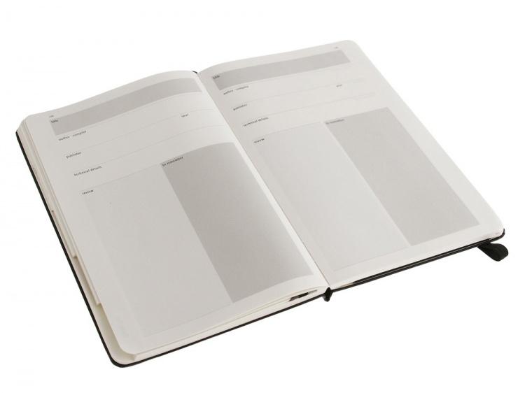Записная книжка Moleskine Passion Art (Искусство), Large (13x21см), черный