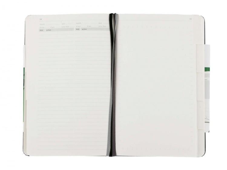Записная книжка Moleskine Passion Gardening (Садоводство), Large (13x21см), черный