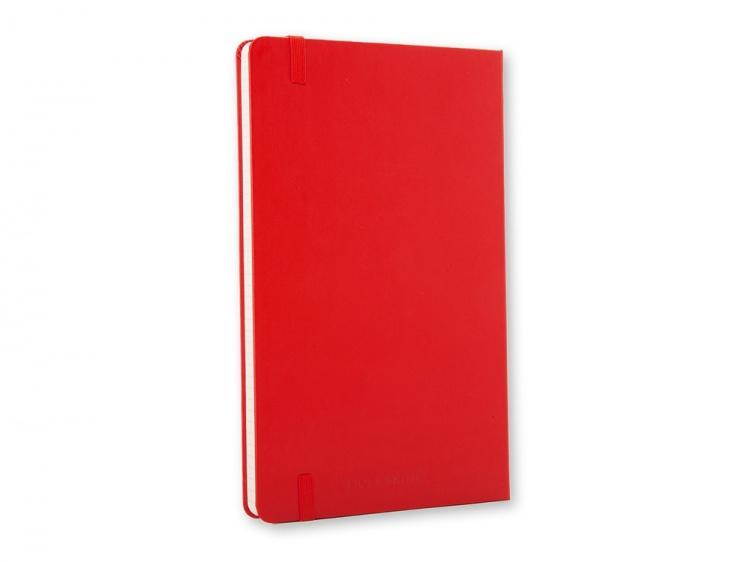 Записная книжка Moleskine Classic (в клетку), Pocket (9х14 см), красный