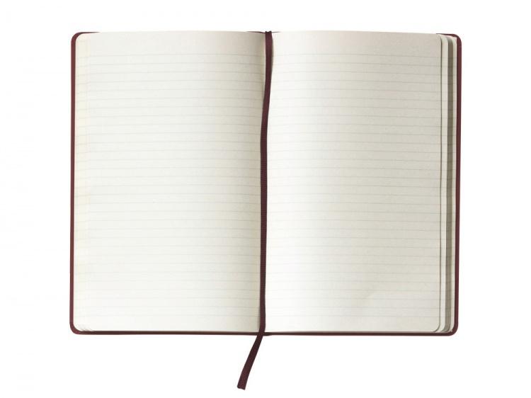 Записная книжка Moleskine Classic (в линейку) в твердой обложке, Large (13х21см), амарант