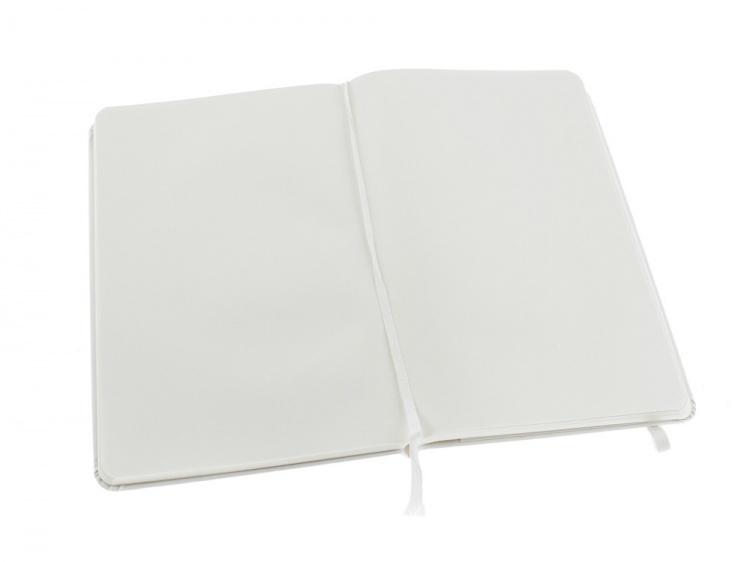 Записная книжка Moleskine Classic (нелинованный) в твердой обложке, Large (13х21см), белый