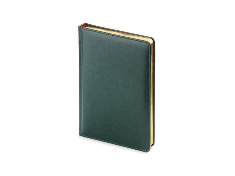 Подарочный набор Parker: темно-зеленый ежедневник с золотыми страницами и шариковая ручка Jotter Essential, стержень синего цвета