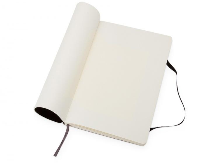Записная книжка Moleskine Classic Soft (нелинованный), Pocket (9х14 см), черный