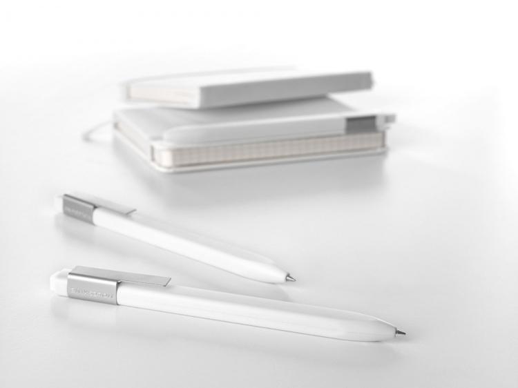 Классическая Авт. шариковая ручка Click, 1,0 мм, белый