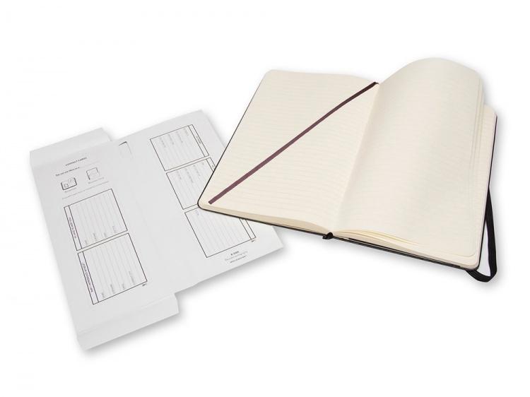 Записная книжка Moleskine Professional, Large (13х21см), черный
