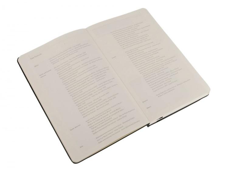 Записная книжка Moleskine Passion Film (Кино), Large (13x21см), черный