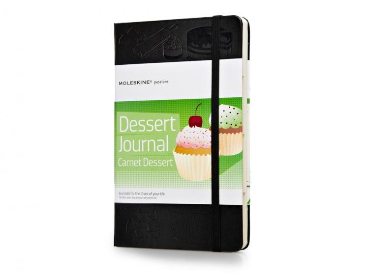 Записная книжка Moleskine Passion Dessert (Десерт), Large (13x21см), черный