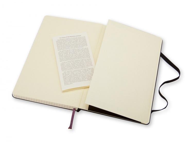 Записная книжка Moleskine Classic (в клетку), Pocket (9х14 см), черный
