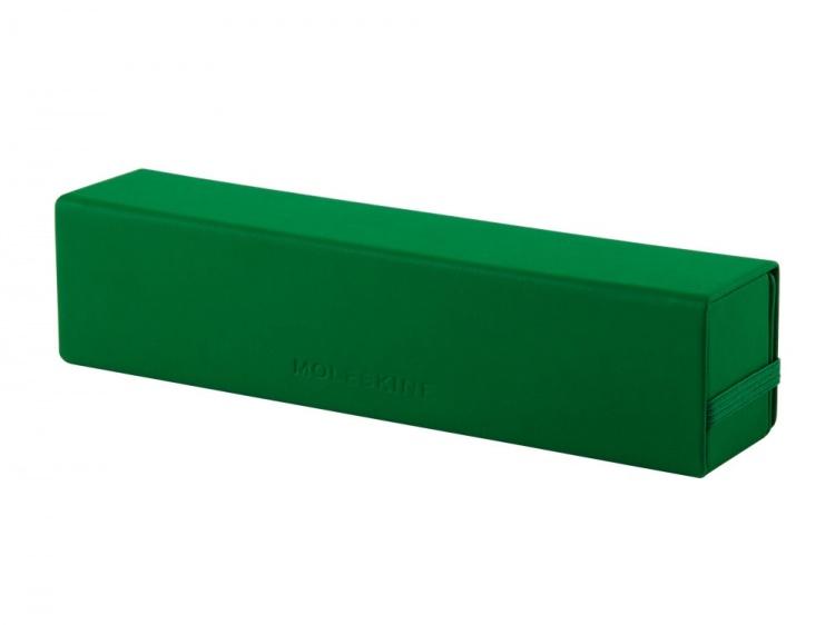 Футляр для очков и ручек Moleskine, зеленый