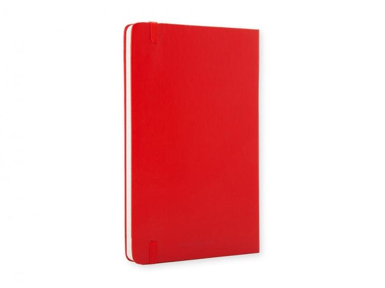 Записная книжка Moleskine Classic (в линейку) в твердой обложке, Large (13х21см), красный