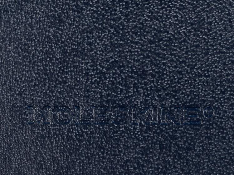 Записная книжка Moleskine Classic (в линейку) в твердой обложке, Medium (11,5x18 см), синий