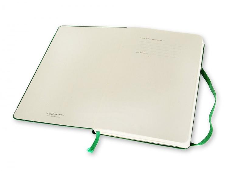 Записная книжка Moleskine Professional, Large (13х21см), зеленый