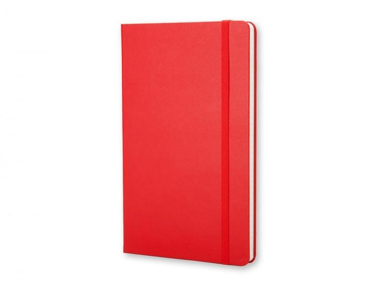 Записная книжка Moleskine Classic (в клетку) в твердой обложке, Large (13х21см), красный