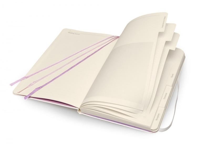 Записная книжка Moleskine Passion Wedding (Свадьба), Large (13x21см), белый