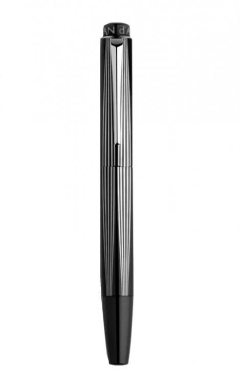 Ручка роллер Carandache RNX.316 PVD Black Version  сталь 316L черное PDV-покрытие