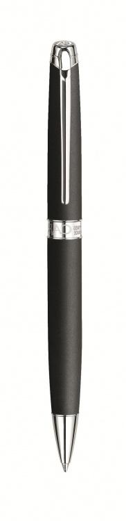 Ручка шариковая Carandache Leman  Black lacquered matte SP подар.кор.