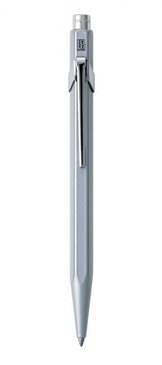 Ручка шариковая Carandache Office CLASSIC grey  (M) чернила: синий в подарочной коробке
