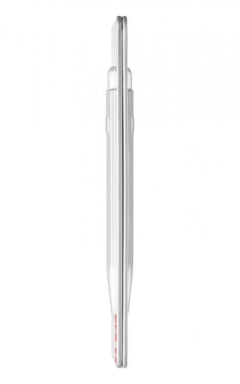 Ручка шариковая Carandache Office Popline  Laquer White M синие чернила подар.кор.