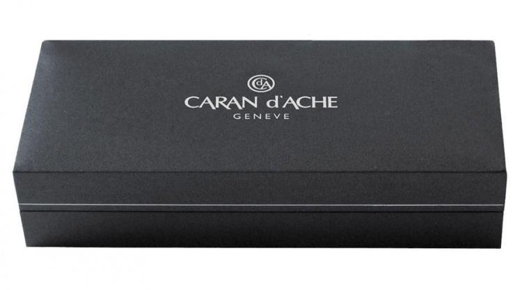 Шариковая ручка Caran d'Ache Leman Slim Ebony Black Lacquer SP