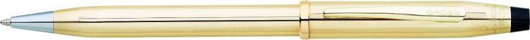 Шариковая ручка Cross Century II. Цвет - золотистый.