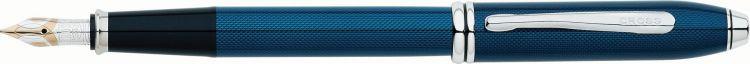 Перьевая ручка Cross Townsend. Цвет - синий.