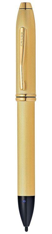 Стилус-ручка Cross Townsend E-Stylus с электронным кончиком. Цвет - золотистый.