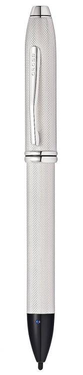 Стилус-ручка Cross Townsend E-Stylus с электронным кончиком. Цвет - платиновый.