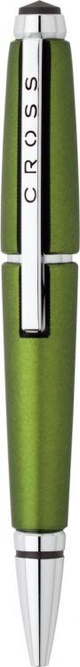 Ручка-роллер Cross Edge без колпачка . Цвет - зеленый.