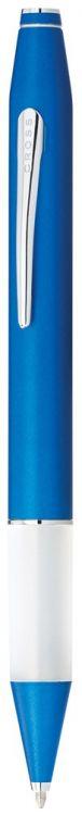 Ручка шариковая Cross Easywriter. Цвет - синий + серебристый.