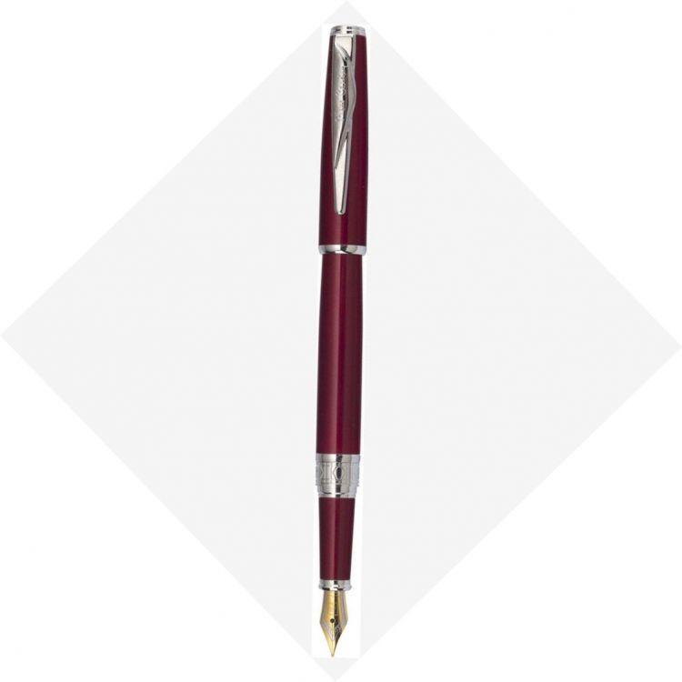 Ручка перьевая Pierre Cardin SECRET Business, цвет - красный. Упаковка B.