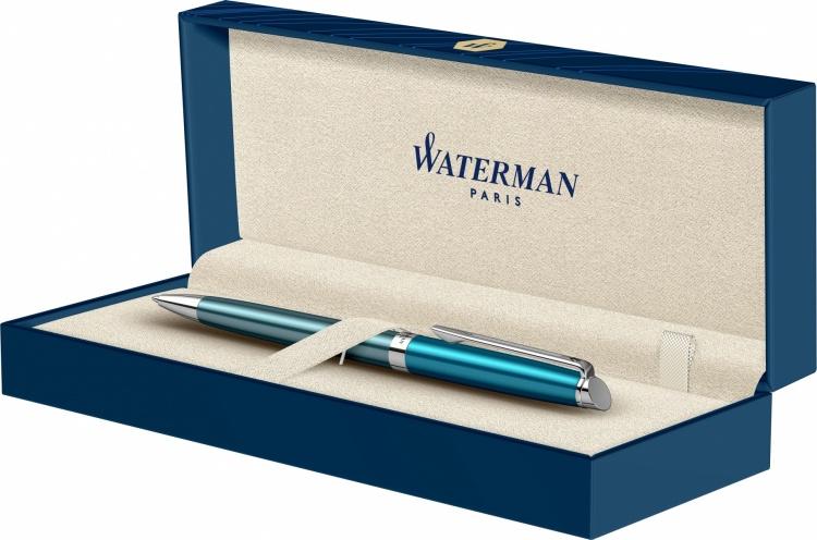 Подарочный набор: Шариковая ручка Waterman Hemisphere French riviera COTE AZUR в подарочной коробке и Ежедневник Brand
