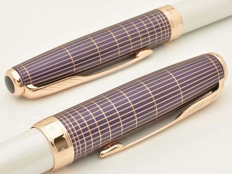 Перьевая ручка Sonnet Special Edition Contort Purple Cisele, перо F
