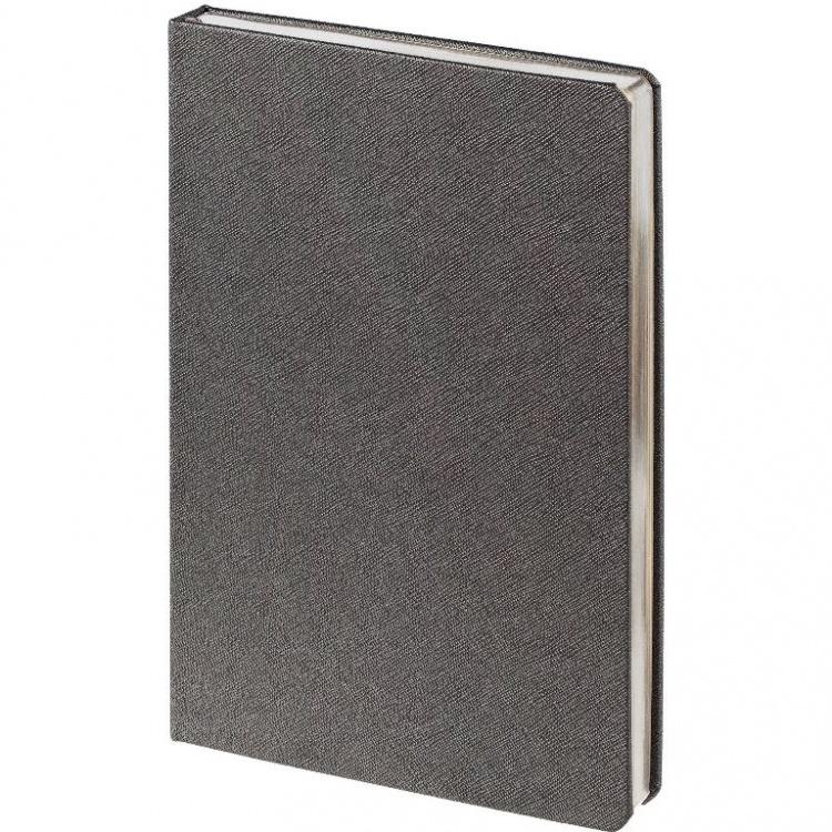 Подарочный набор: Шариковая ручка Parker IM Metal Blue Grey CT и Ежедневник недатированный серый