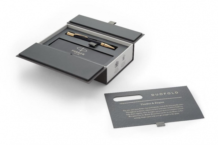 Шариковая ручка Parker Duofold Classic Black GT Fountain Pen