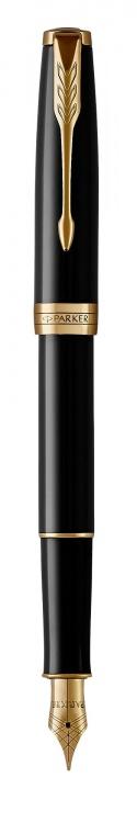 Перьевая ручка Parker Sonnet Black Lacquer F